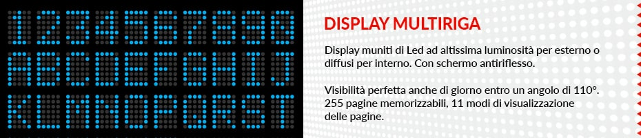 display multiriga
